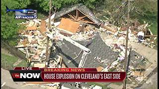 House explosion on Cleveland's east side - Video