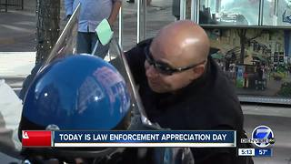 Officers honored in Colorado on Law Enforcement Officer Appreciation Day - Video