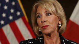 Betsy DeVos Visits Marjory Stoneman Douglas High School - Video