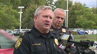 Willoughby Hills Police Chief Collins gives update on two officer shot - Video