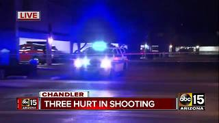 BREAKING: 3 people hurt in Chandler shooting Saturday - Video