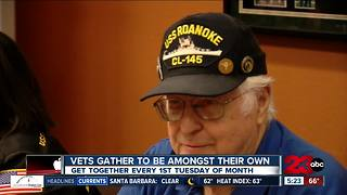 Local veterans gather to be amongst their own - Video