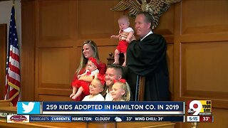Hamilton County Job and Family Services set record high number of adoptions in 2019