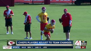 No first-day jitters at Chiefs training camp