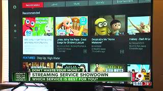 Streaming service showdown - Video