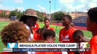 Princeton HS Hosts Football and Cheerleading Camp - Video