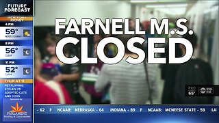 Farnell Middle School closing for 2 days over coronavirus concerns