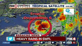 Tropical Depression Six forms in the Gulf odf Mexico - 6am update - Video