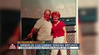 Air Berlin's bankruptcy is driving loved ones apart - Video