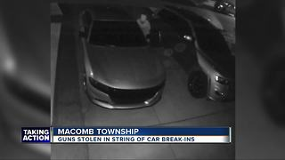 Neighborhood in Macomb County on high alert after car break-ins Thursday morning - Video