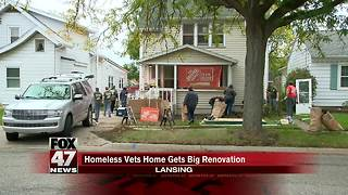 Homeless veterans home gets renovation