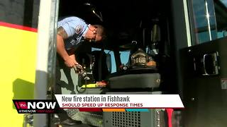 Hillsborough County Fire gets first new fire station since 2006 - Video