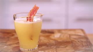 Bacon-Infused Vodka Breakfast Shots - Video