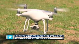 Drone training for local first responders - Video