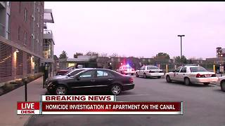 Woman killed in workout room of luxury apartment building on canal near downtown Indianapolis - Video