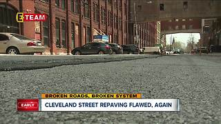 Some CLE City Councilmen are getting their streets repaved; residents with rough roads are angry - Video