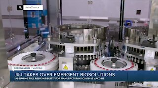 J&J takes over Emergent BioSolutions