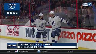 Nikita Kucherov reaches 80-point mark, Tampa Bay Lightning down Ottawa Senators 4-3 - Video