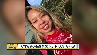 Tampa native reported missing in Costa Rica - Video