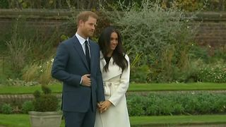 Prince Harry and Meghan Markle make first public appearence since announcing engagement