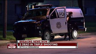 Milwaukee triple shooting leaves 2 teens dead, 1 injured - Video