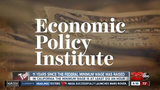 11 years since the federal minimum wage was raised