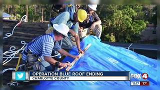 Operation Blue Roof ending soon - Video