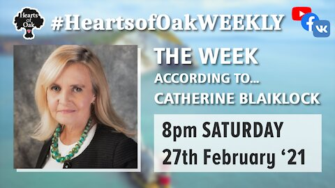 The week according to Catherine Blaiklock 27.2.21
