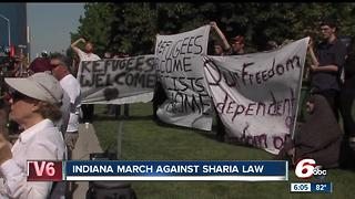 No arrests at downtown anti-Sharia march - Video