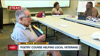 Poetry course helping local veterans