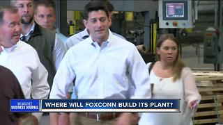 Where will Foxconn be built?