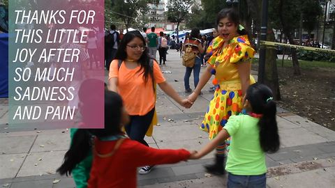 The Mexico City clown getting children to laugh again