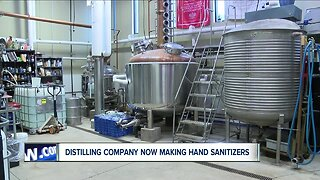 Buffalo Distillery making hand sanitizer to help fill the need during coronavirus pandemic
