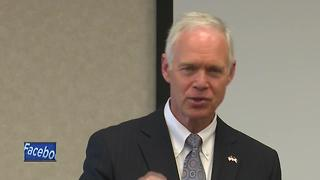 Sen. Ron Johnson undecided on revised Senate Republican health care bill - Video