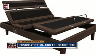 Customatic recalls adjustable bed bases for shock hazard - Video