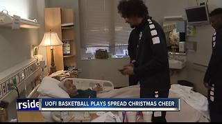 Vandal athletes spread holiday cheer