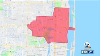 Power restored after thousands of Lake Worth Utility customers impacted overnight - Video