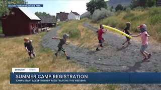 Summer camp registration is starting