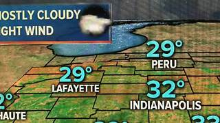 Saturday night weather in Indy - Video