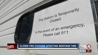 Closed Fire Stations Affecting Response Time - Video