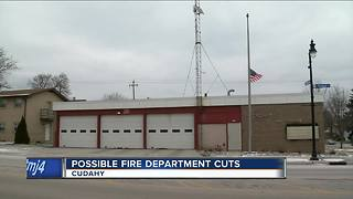 Cuts possible at Cudahy Fire Department - Video