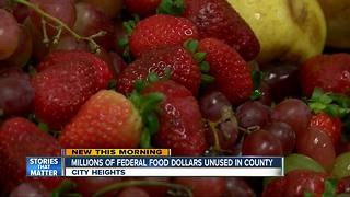 San Diego County missing out on millions of federal dollars to feed kids - Video