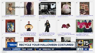 How to save money on Halloween - Video