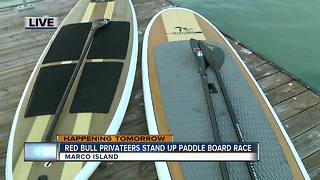 Red Bull Privateers search for treasure in stand up paddle board race - 7:30am live report - Video