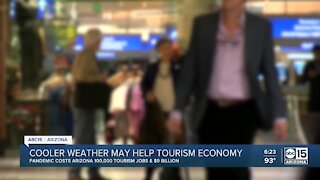 Cooler weather may help tourism economy