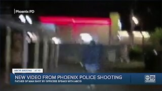 New video from Phoenix police shooting