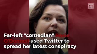 Rosie O'donnell Pushes Twisted Trump Affair - Video