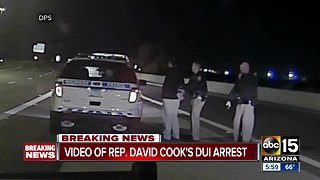 Video of Rep. David Cook's arrest released