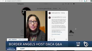 Border Angels host Q&A about DACA under Biden Administration