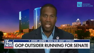 John James: I Support Trump's Agenda - Video